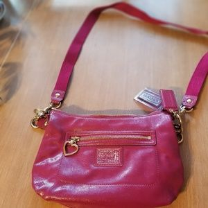 Poppy Coach Bag berry pink